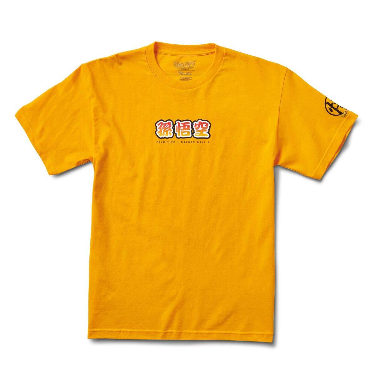 LG Gold Primitive x Dragonball Z Goku Saiyan Style T-Shirt