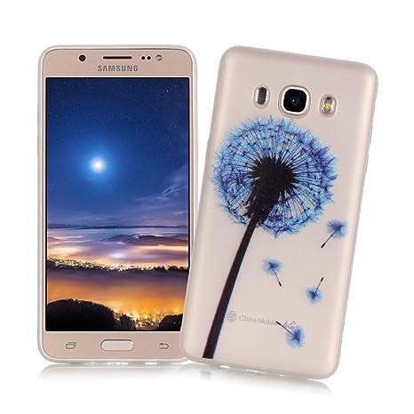 XiaoXiMi Carcasa Samsung Galaxy J5 2016 SM-J510F Funda Luminosa de Silicona Caucho Gel para Samsung Galaxy J5 2016 SM-J510F Soft TPU Silicone Case ...