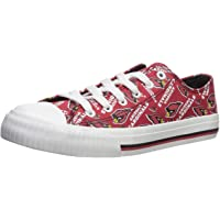 $39 » FOCO NFL Womens Low Top Repeat Print Canvas Shoes