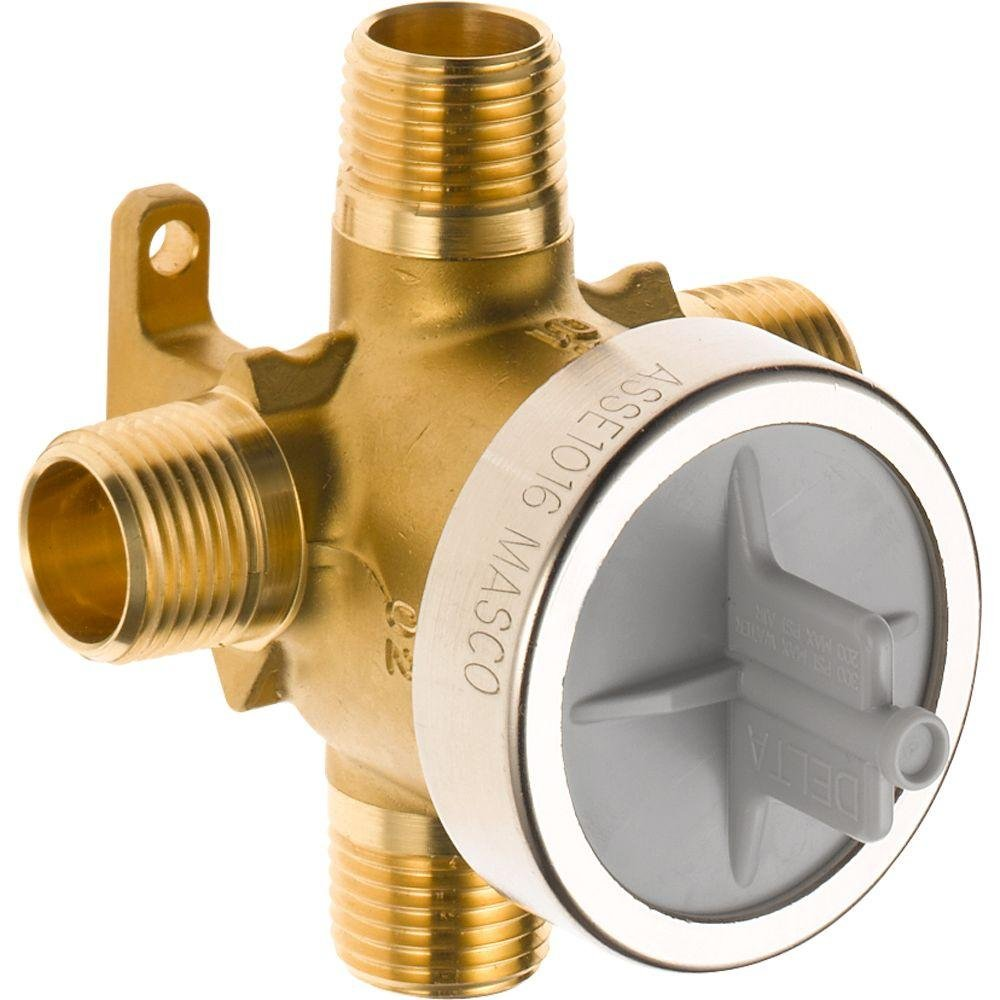 delta with tub spout port on heads valve shower index img diverter forums putting