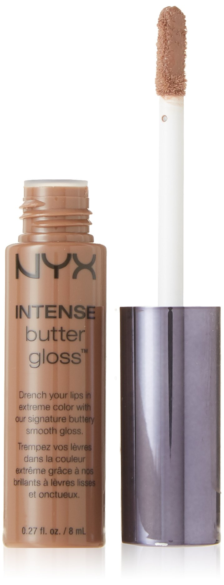 NYX PROFESSIONAL MAKEUP Intense Butter Gloss, Cinnamon Roll, 0.27 Fluid Ounce by NYX PROFESSIONAL MAKEUP