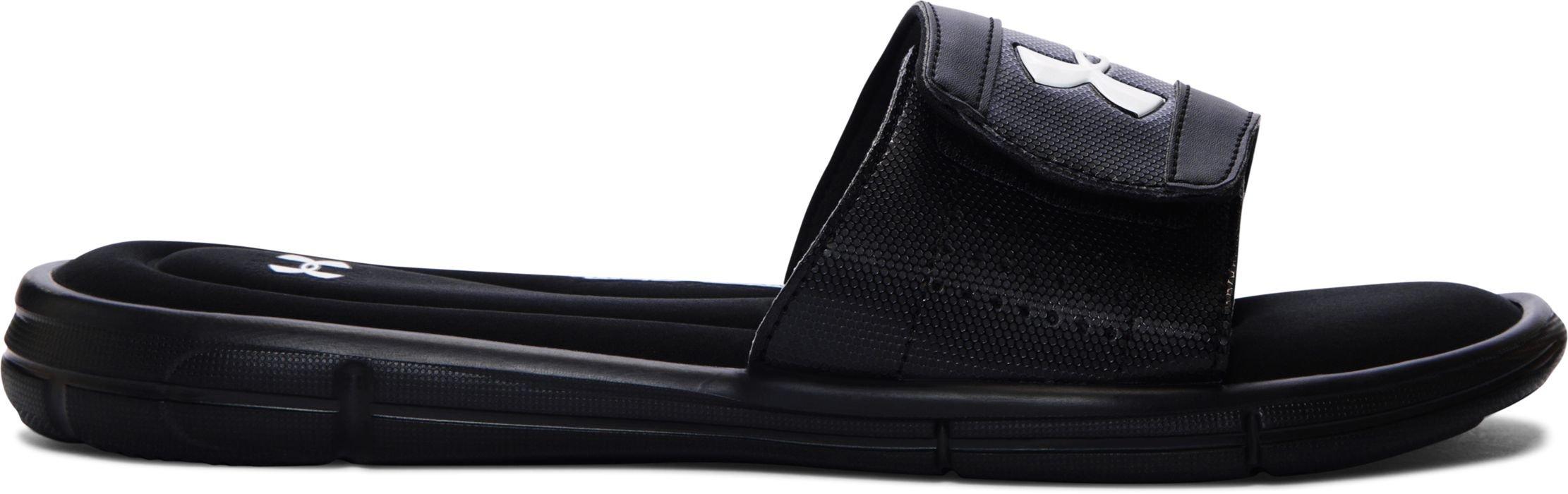 Under Armour Men's UA Ignite V Slide Black/White Athletic Shoe
