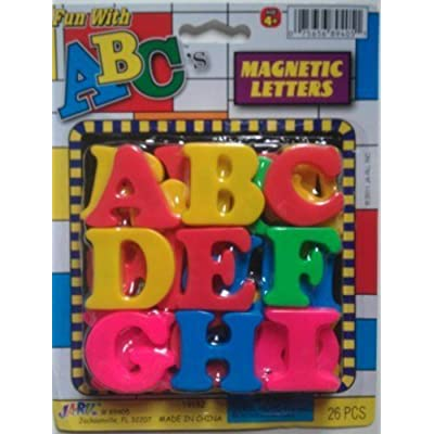 Fun With ABC's Magnetic Letters: Toys & Games