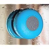 Evotouch-Enceinte Bluetooth Sans fil Portable Stéréo Mini Enceinte étanche Résistant aux éclaboussures 4 Couleurs (Bleu)
