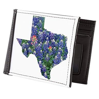 Royal Lion Mens Wallet Billfold Texas Bluebonnets