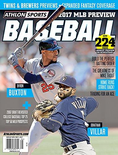 Athlon Sports 2017 MLB Preview Baseball Magazine Minnesota Twins/Milwaukee Brewers ()