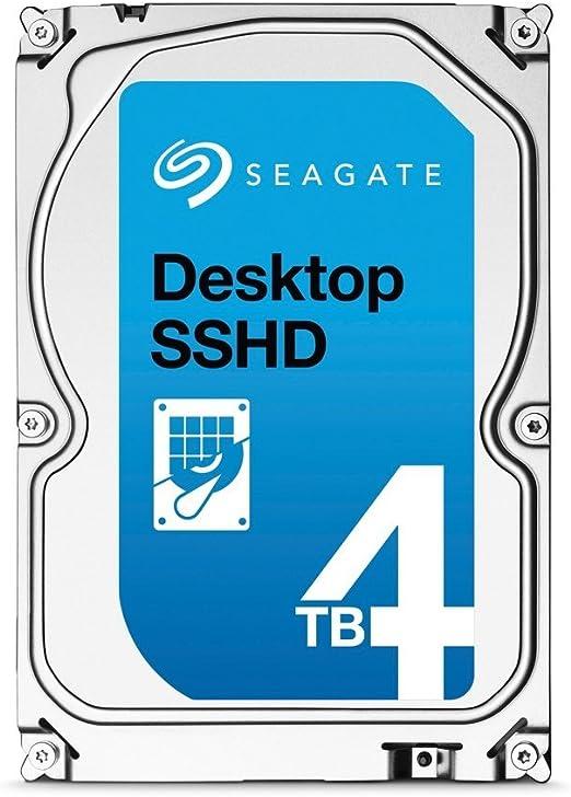 Seagate FireCuda - Disco interno Híbrido SSHD de 4TB (3,5, 64MB ...