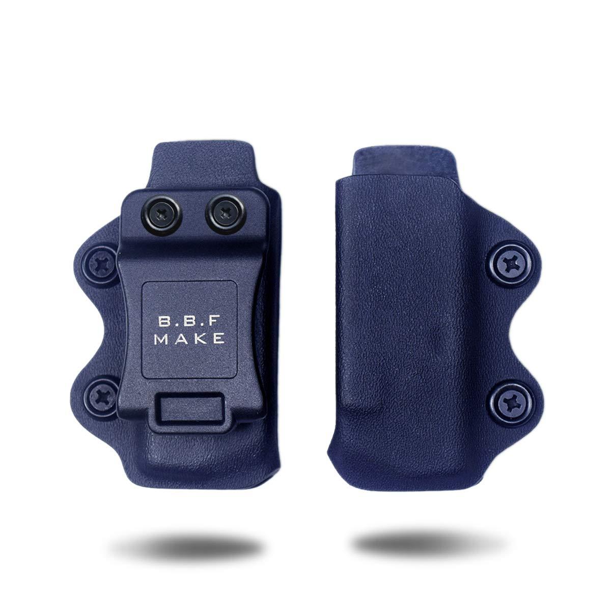 Glock 4//90//357 Glock 19//17//25//26//43 Sig Sauer P365 B.B.F Make IWB//OWB KYDEX Magazine Pouch Magazintasche Pistolenholster for 1911 M/&P Shield 9//40 Drinnen und Drau/ßen Mag Pouch Pistol Glock 26