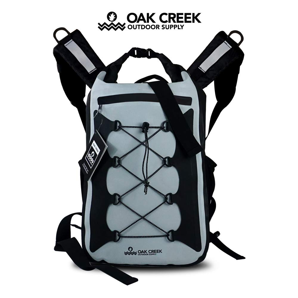 Oak Creek | Canyon Falls 30L Dry Bag Backpack | Premium Waterproof Backpack with Padded Shoulder Straps | PVC Construction | Keep Your Gear Dry by Oak Creek Outdoor Supply