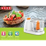 USHA NUTRICHEF MINI CHOPPER (70 WATT) WHITE