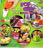 fruit shapes - Pop Chef, Anaranjado