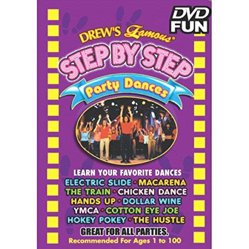 Amscan Drew's Famous Step Dance Educational Dvd Multimedia Supplies (6), 6 Pieces