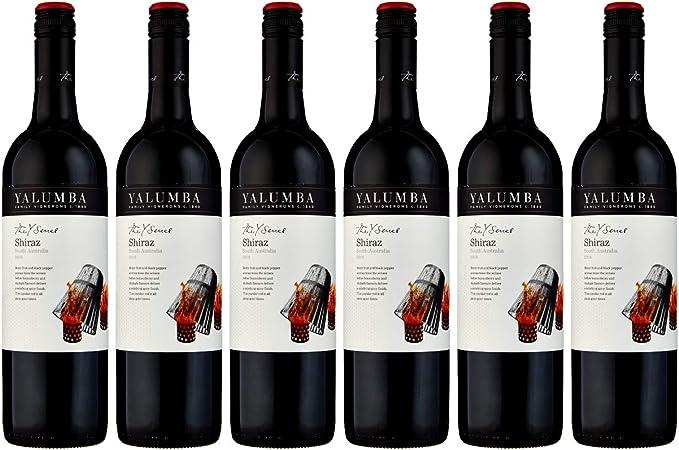 Yalumba 2017/2019 Y Series Shiraz South Australia Red Wine, 75 cl (Case of 6): Amazon.co.uk: Grocery