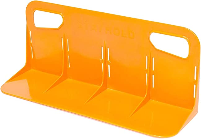 Size Sm Adapts to Hold Any Size or Shape Item Sticks to Carpet with Hard Gripping VELCRO Brand Technology Mini Cars Orange Trucks Minivan /& Boats STAYHOLD Mini Car Trunk Organizer SUV