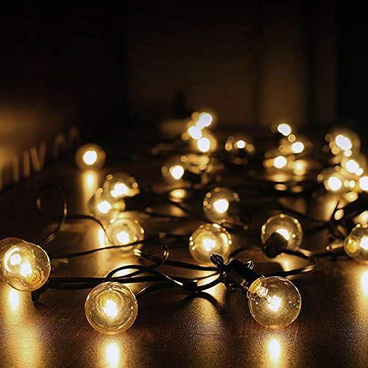 XRDDP Luces De Jardín Al Aire Libre, Luces Exteriores De Patio De Jardín LED, Luces Interiores/Exteriores Impermeables, Gran Terraza De Jardín Patio Luces Exteriores: Amazon.es: Hogar