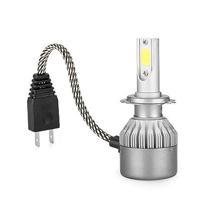AGM 2x Lampe Ampoule LED COB Voiture H7 110W 9200LM Phare Headlight de  Haute Puissance avec Lumière Pur Blanche 6000K Kit de Conversion de  Rechange ...