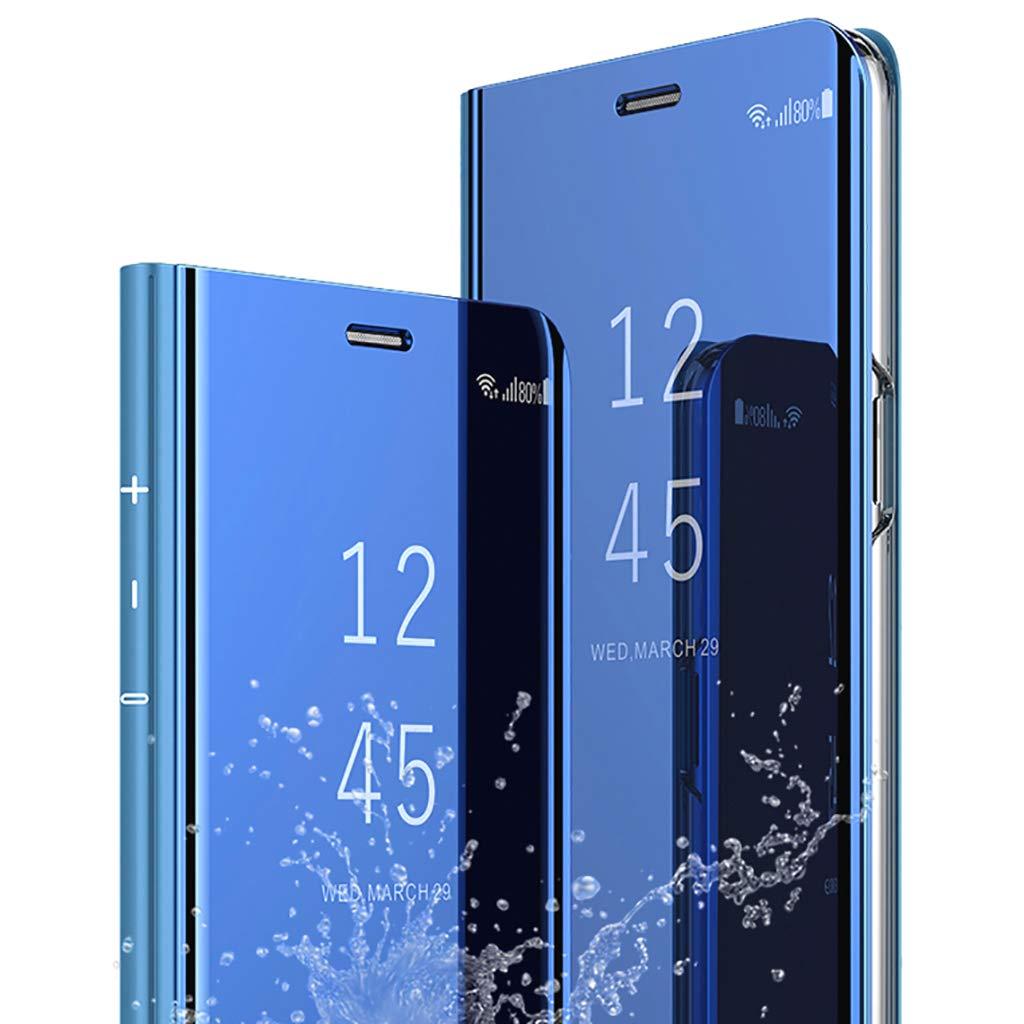 Bakicey Galaxy S7 Edge H/ülle Galaxy S7 Leder Handyh/ülle Spiegel Schutzh/ülle Flip Tasche Case Cover f/ür Samsung S7 Edge Stand Feature etui Bumper handyhuelle H/ülle