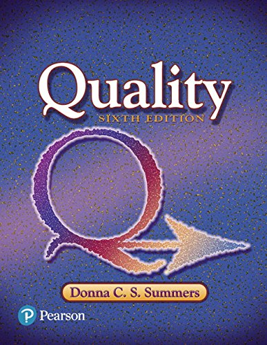 Quality Effects (Quality (6th Edition) (What's New in Trades & Technology))