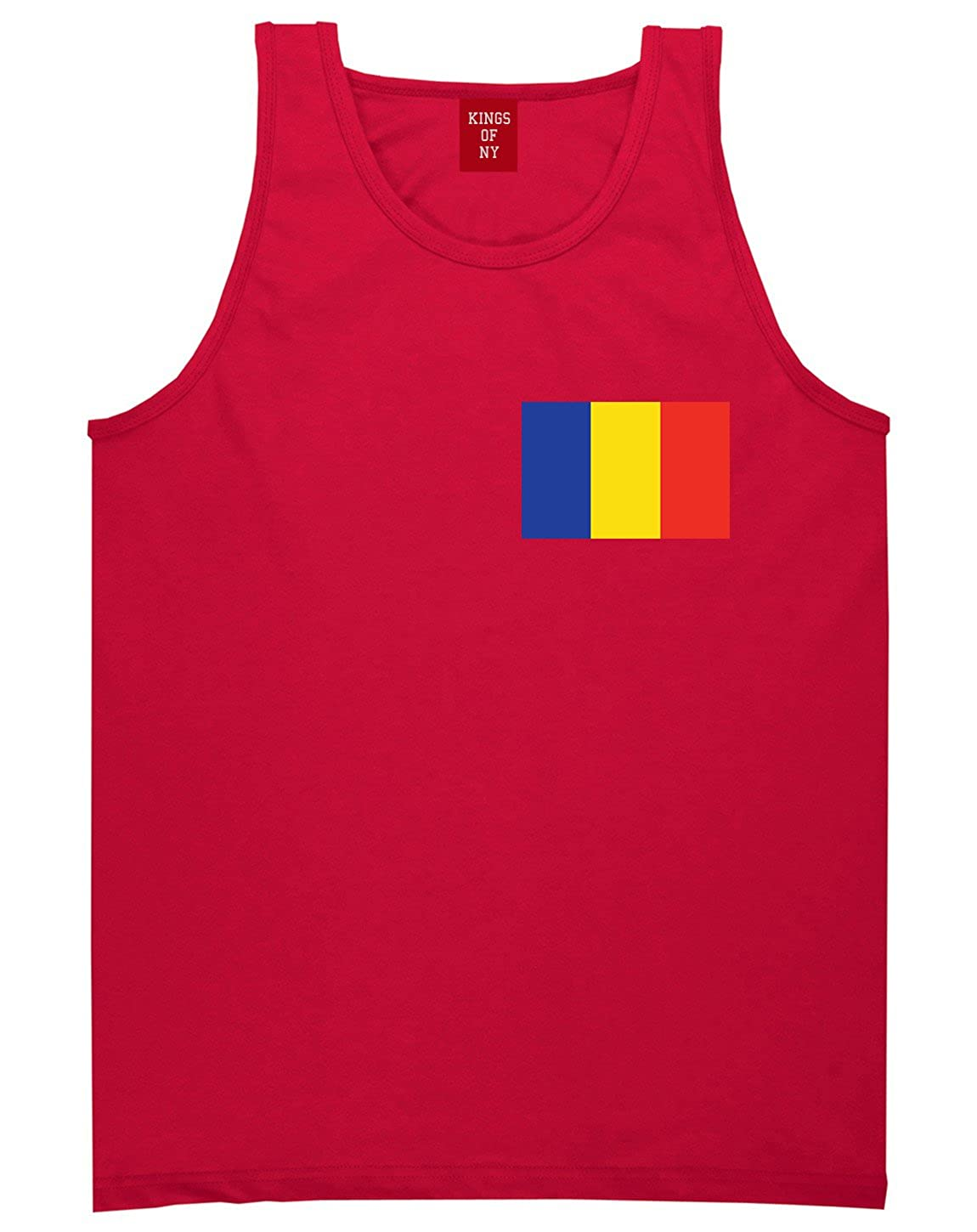 Chad Flag Country Chest Tank Top Shirt