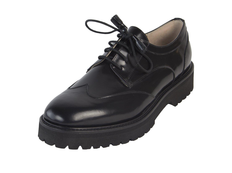 Marina Rinaldi Women's Lelia Tassle Lace Loafers, Black, US 10/IT 40