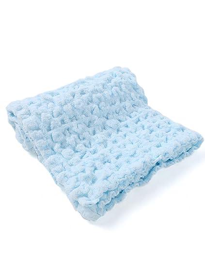 Toallas de algodón recién Nacido Toalla de bebé Absorbente de Agua ...
