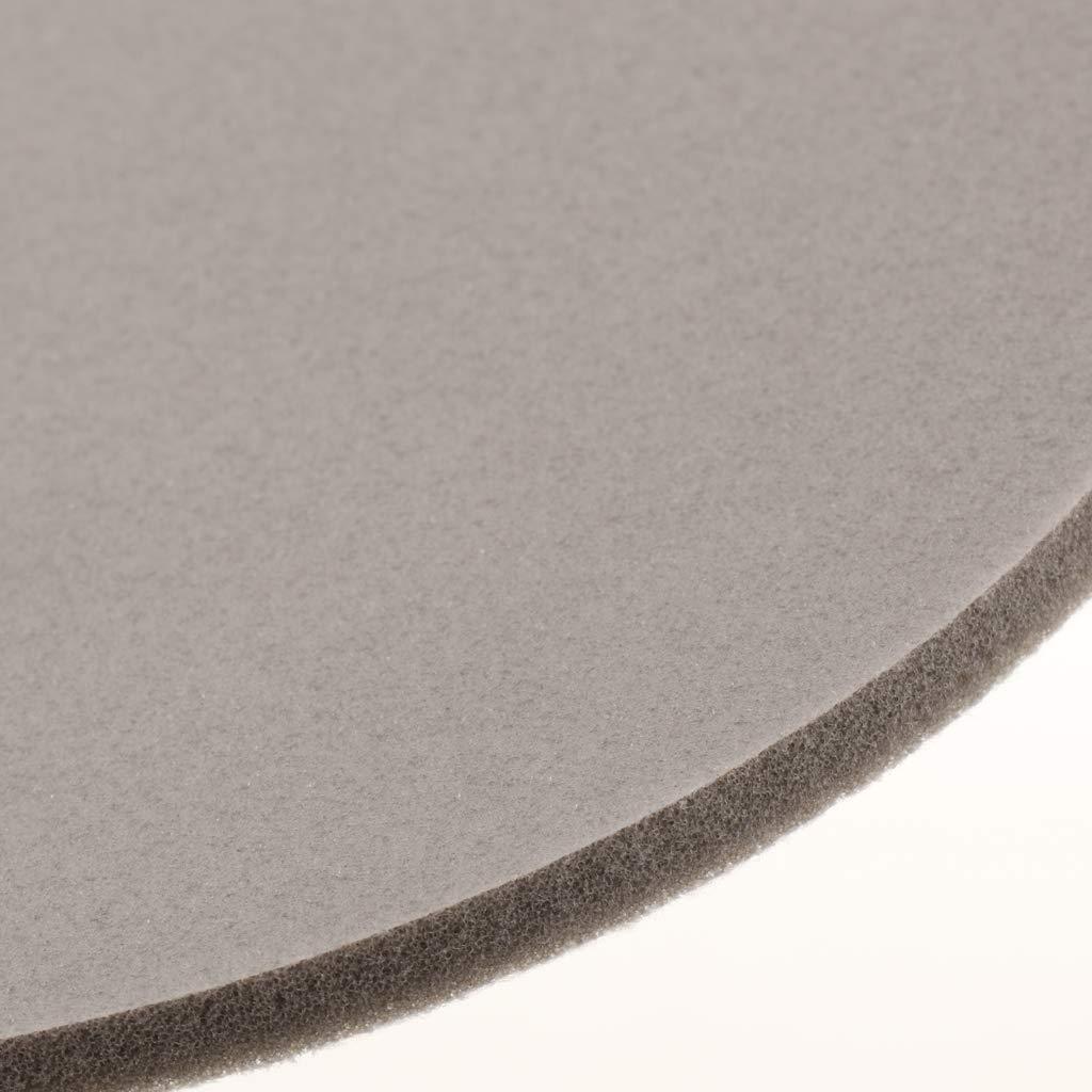 Fenteer 125 mm Schleifschwamm//Polierschwamm mit Klettverschluss K/örnung ausw/ählbar K/örnung 1800-2000#