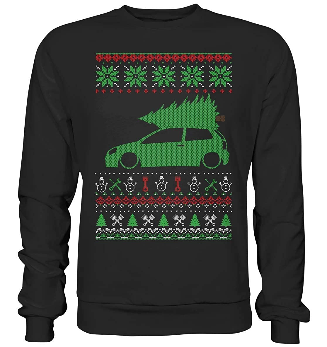 glstkrrn clothing Polo 9N3 Ugly Christmas Sweater suéter de ...