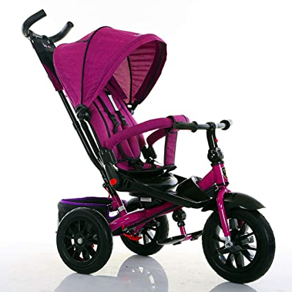 ZGP &Cochecito de bebé Triciclo para niños Bicicleta 1-3-5 ...
