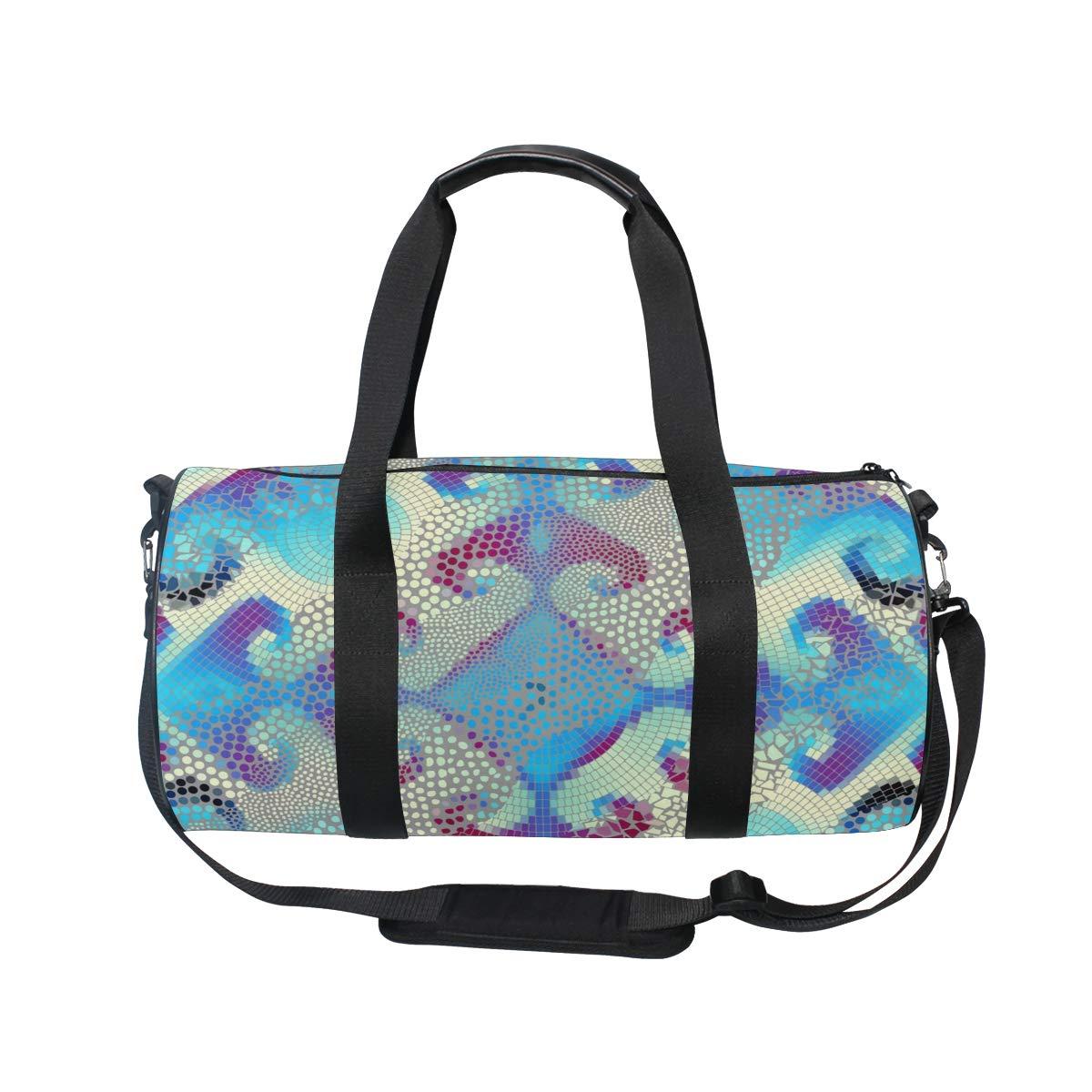 Psychedelic Sketch Ceramic PictureWaterproof Non-Slip Wearable Crossbody Bag fitness bag Shoulder Bag