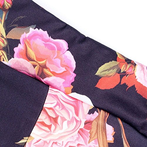 Vintage Tempo Primaverile Campana Pants Fit marca Elegante di Pantaloni Donna Pantaloni Fiore Pantaloni Libero Slim Palazzo Autunno Lunga Mode Moda A Rot Modello Pantaloni Colpo IwX611