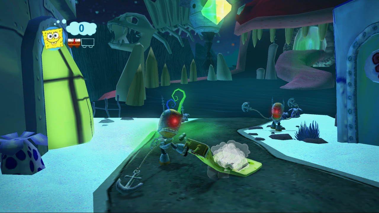 amazon com spongebob u0027s truth or square sony psp video games