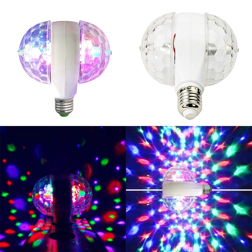 Disco Party Light Double Rotation