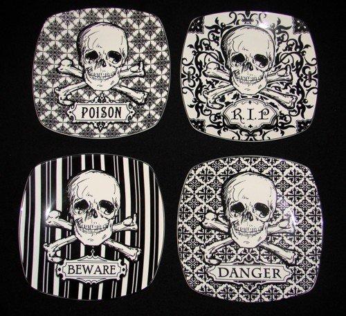 222 Fifth Halloween Skulls Crossbones 8