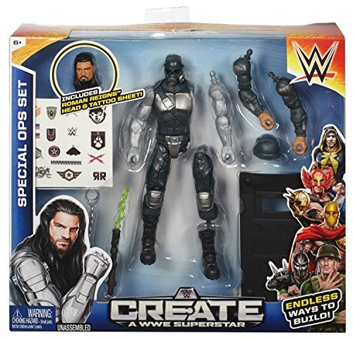 Create a WWE Superstar Roman Reigns Special Forces Pack [parallel import goods]