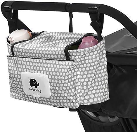 Oferta amazon: Bolso Carro Bebé, Bebé Bolso de bolsa de almacenamiento bolsa de pañales para Impermeable Infantil