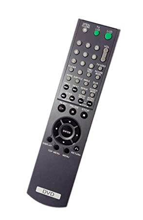 replaced remote control compatible for sony dvp ns72hp rmtd175a rh amazon co uk Sony DVD Sony DVD Player