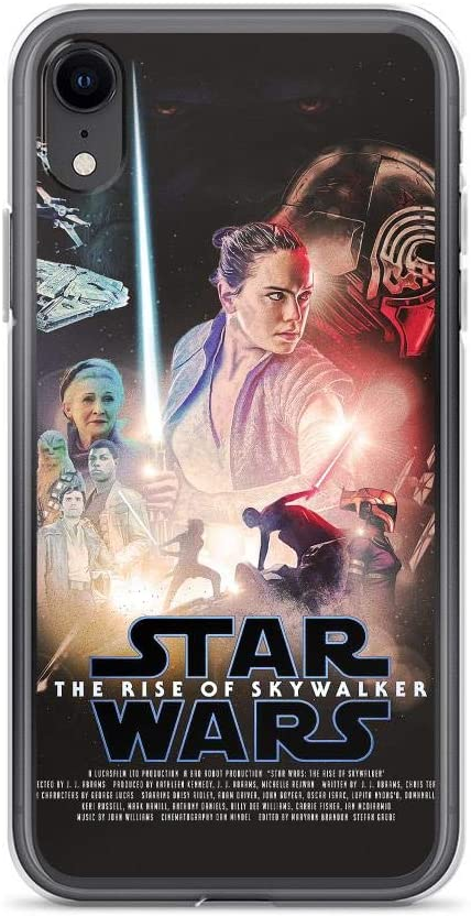 Amazon Com Teemt Compatible With Iphone 7 8 Case Stars Wars Poster Rey Rise Of Skywalker Galaxy Fantasy Movie Pure Clear Phone Cases Cover Electronics