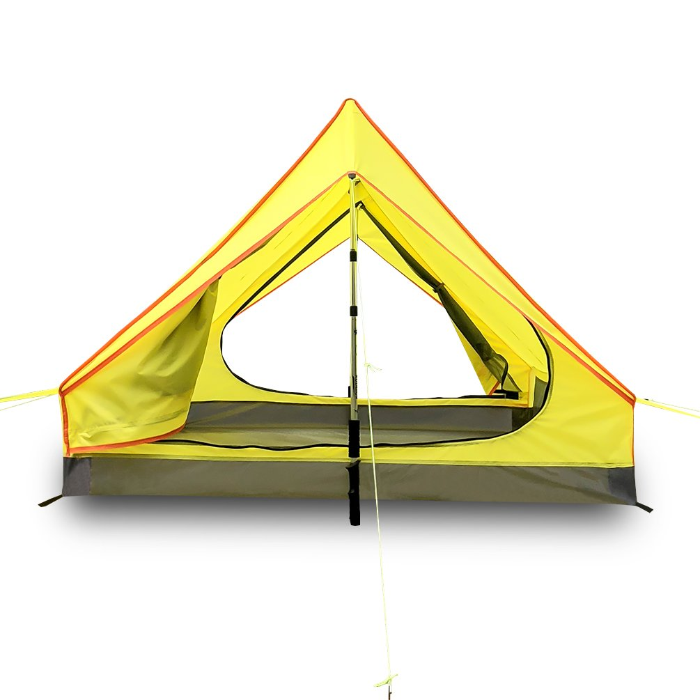 Survivalist Lightest Two person Trekking Pole Tents-Reduce Weight for Camping in 4 Seasons
