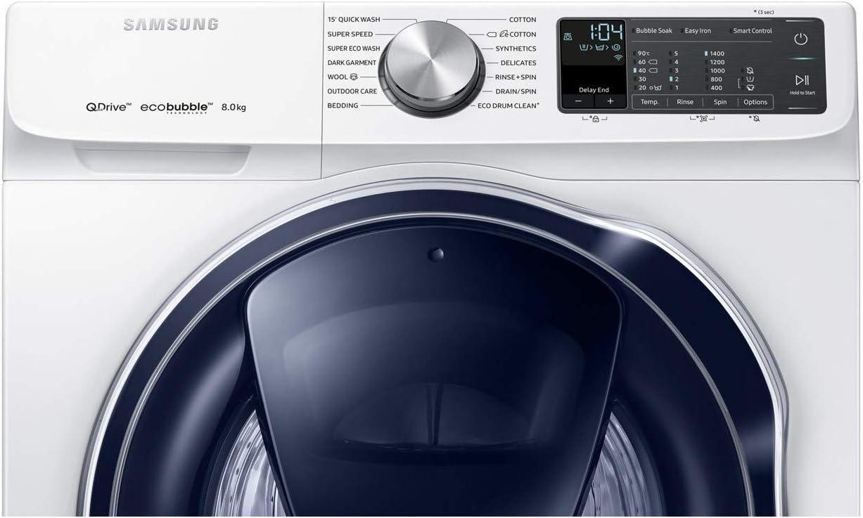 Lavadora Samsung WW80M645OPM Samsung WW80M6450PM QuickDrick con ...