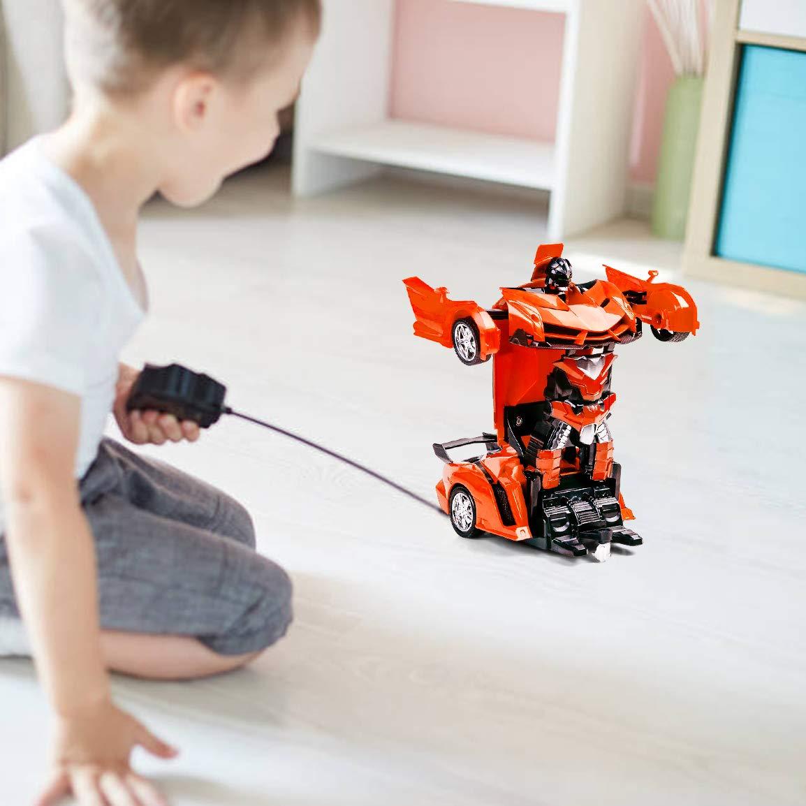 Subao Children Remote Control Deformation Car Transform Robot Car Toys for Kids
