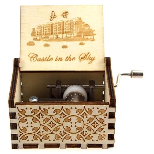 LYXL Caja Musica Niña Carved Queen Music Box Star Wars Juego De ...