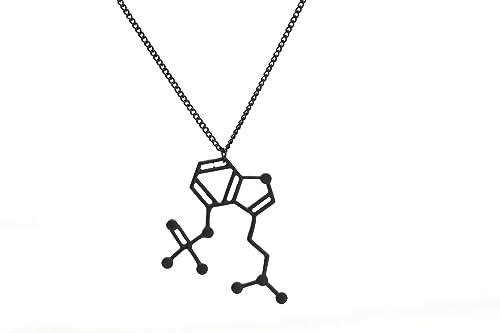Daesar Collar Acero Inoxidable Mujer Collar Fórmula Química ...