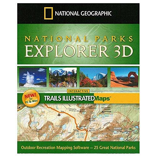 National Parks Explorer (National Park Maps) Yosemite Natl Park Map