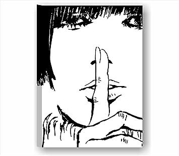 Valentina 6 - Quadro moderno intelaiato 50x70 cm tela stampa ...
