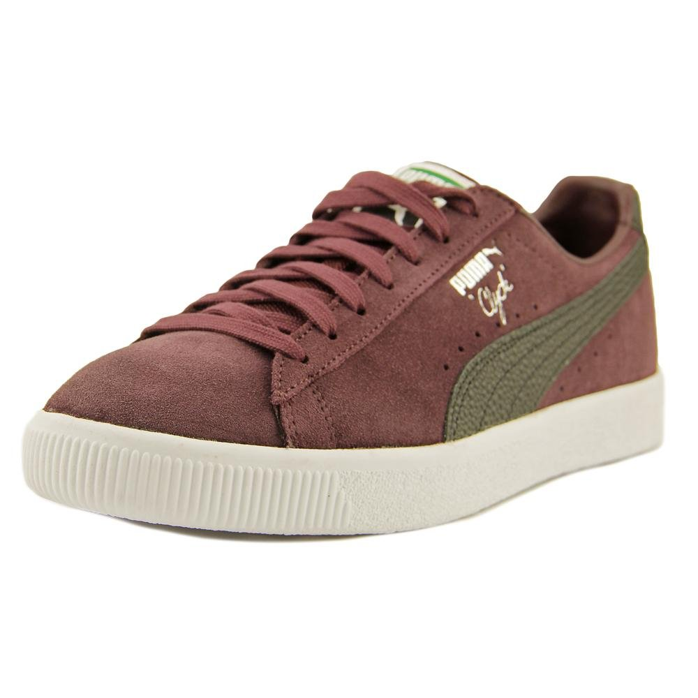 super cute 35a63 f2acd Puma Clyde NYC Men Round Toe Suede Sneakers