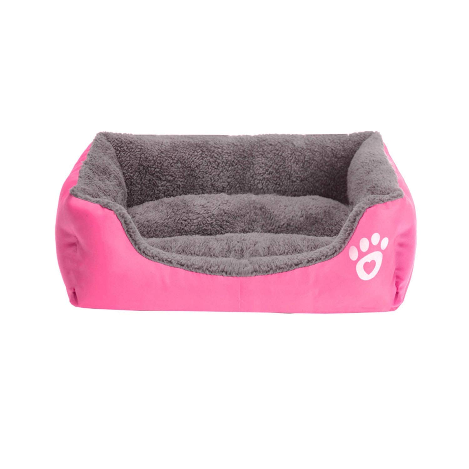 Amazon.com : Wateroof Bottom Soft Fleece Warm Cat Bed House ...