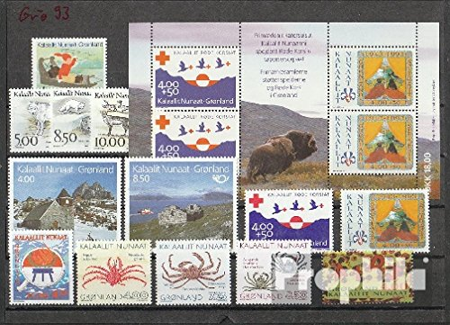 Denmark - Greenland 1993 Complete Volume in Clean Conservation (Stamps for Collectors)