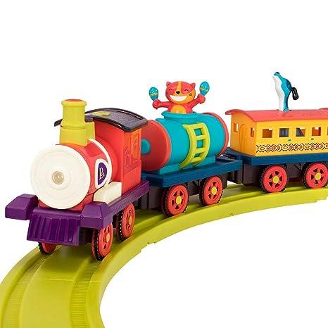 Amazon.com: B. Toys Critter Express - Tren de juguete ...