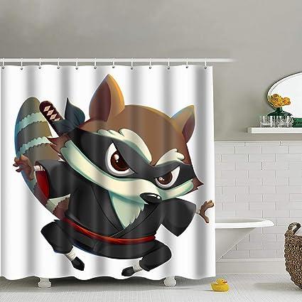 Amazon.com: best bags Ninja Kung Fu Raccoon Isolated On ...