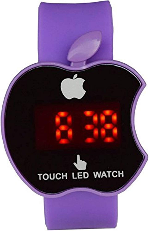 Nexxa Purple LED Digital Wrist Watch for Boys & Girls
